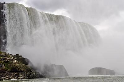 Misty Waters of Niagara Falls