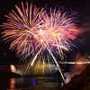 Fireworks over Horseshoe Falls