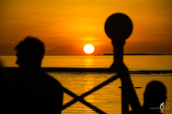 Sunset on Angaga, South Ari Atoll, Maldives