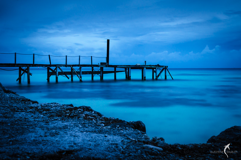 Pier, Fakarava, French Polynesia