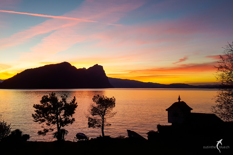 Sunset, Vitznau, Switzerland