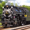 Nickel Plate 765 traveling through the New York's Southern Tier