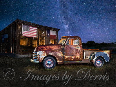 Chevy Truck and the  Milkyway