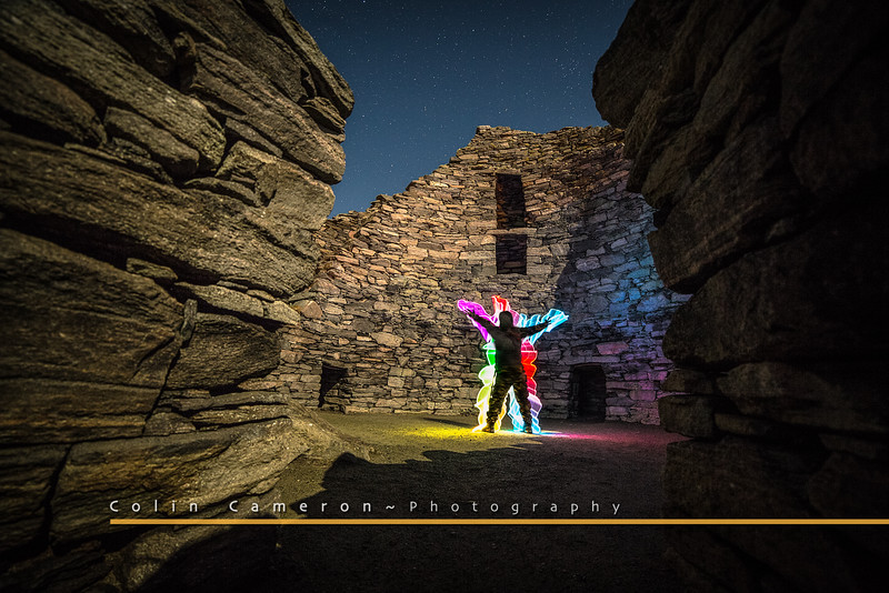 Rainbow Guy in the Broch
