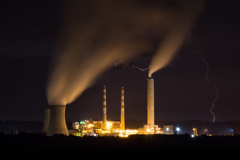Power Plant & Lightning