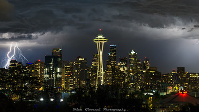 Seattle Summer Solstice Storm