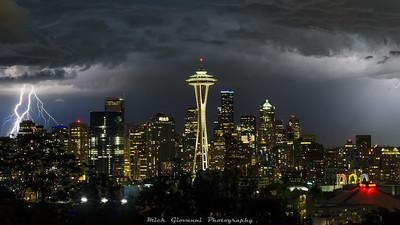 Seattle Summer Solstice Storm