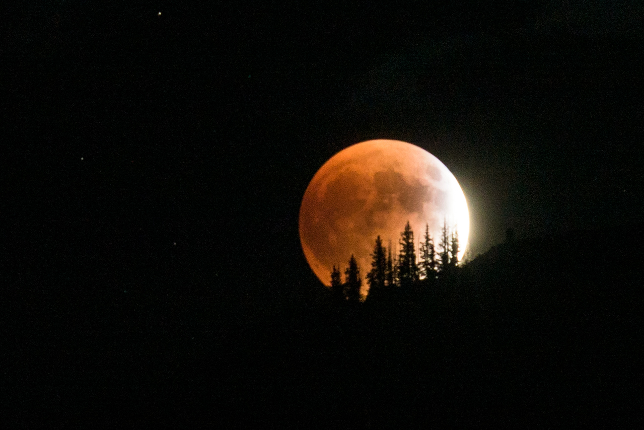 Eclipsed Moonrise
