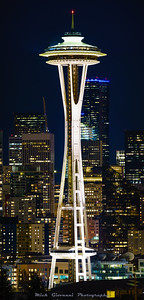 Hi Res 8 shot pano of the Space Needle