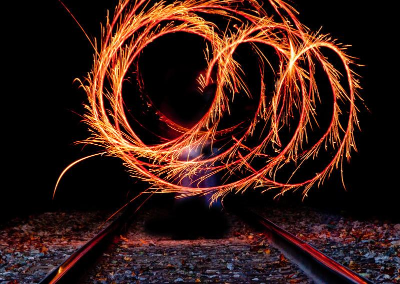Sparklers on the Tracks