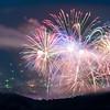 Fireworks Over Black Mountain