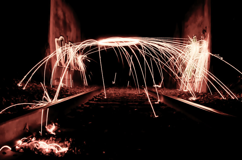 Fire on the Tracks