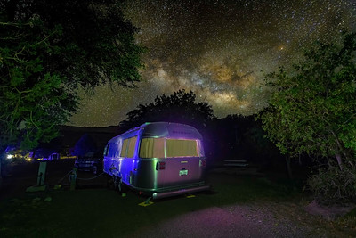 Milky Way and Airstreams!