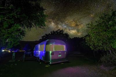 Milky Way and Airstreams!