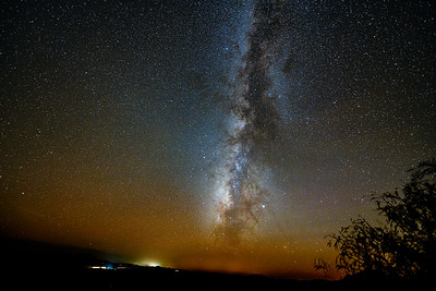 Milky Way Over Fort Davis