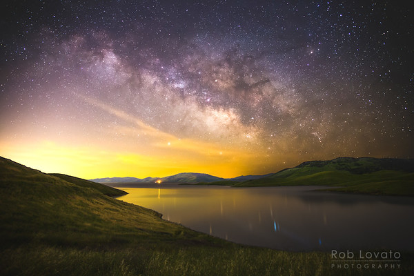 San Luis Reservoir, California