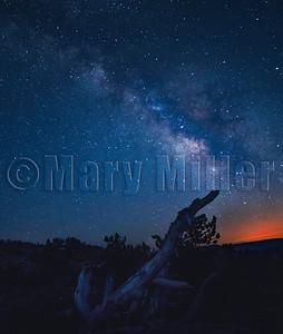 Milky Way Lassen Summit