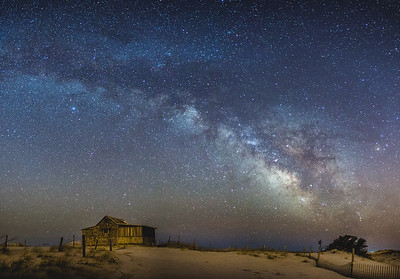 Milky Way Over the Judge's Shack