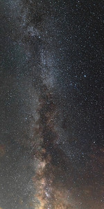 Milky Way During Perseids Meteor Shower