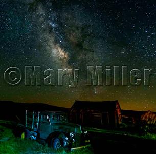 Old Bodie Truck Milky Way