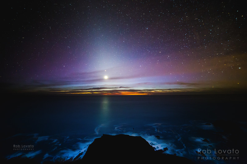 Venus and the Zodiacal Light