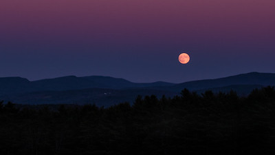 Moon Over Moose Mountain