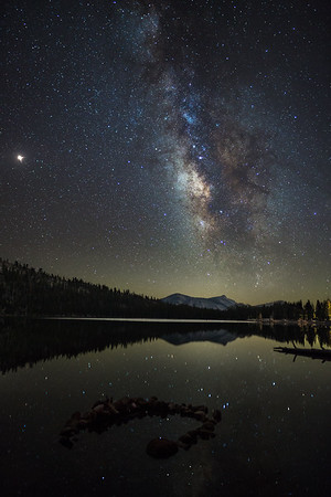 Milky Way over Tenaya Lake