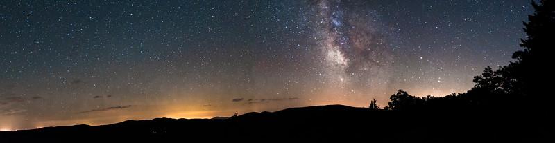 Galaxy on the Horizon
