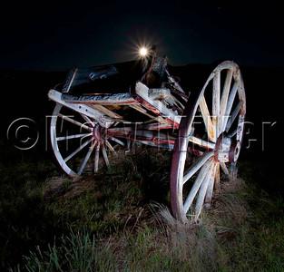 Moon And Wagon
