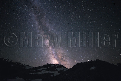 Milky Way Lassen National Park