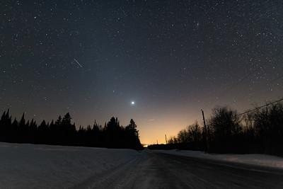 Chasing night skies