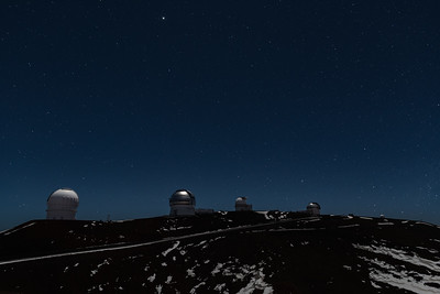 Observing the universe at Mauna kea!