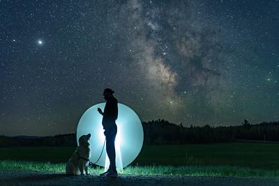 Stargazing night ✨�