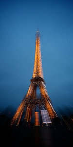 Eiffel Abstract Blur