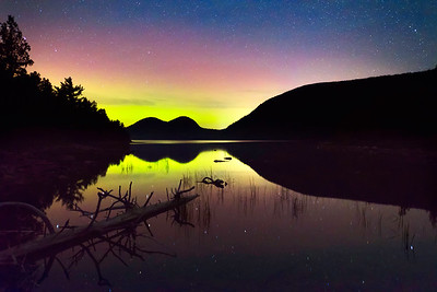 Jordan Pond Reflections