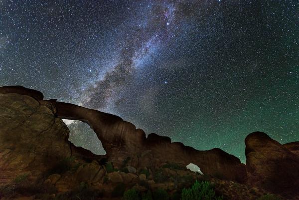 Windows to the Milky Way