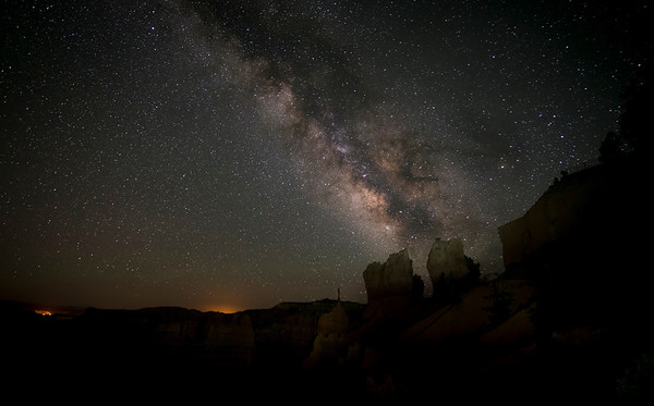 Milky Way Rising out of the Hoodoos