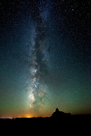 Milky Way over Valley of the Gods