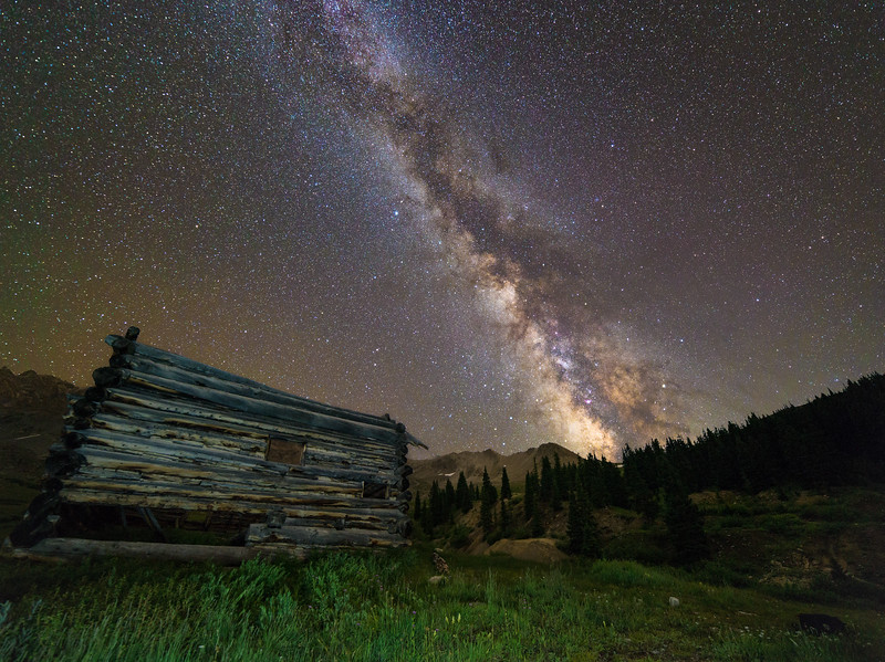 Milky Way at Mayflower Gulch