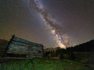Milky Way at Mayflower Gulch