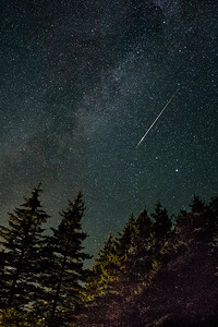 Perseids Meteor & Milky Way