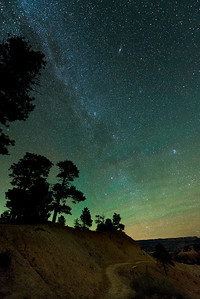 Airglow over Byrce