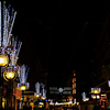 Place de Bel-Air with Christmas decoration - Geneva, Switzerland