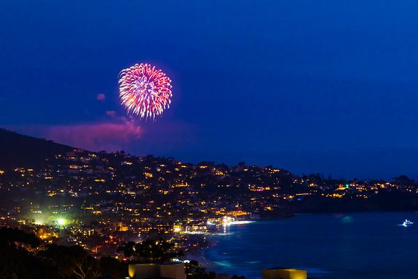 La Jolla Shores Fireworks #1