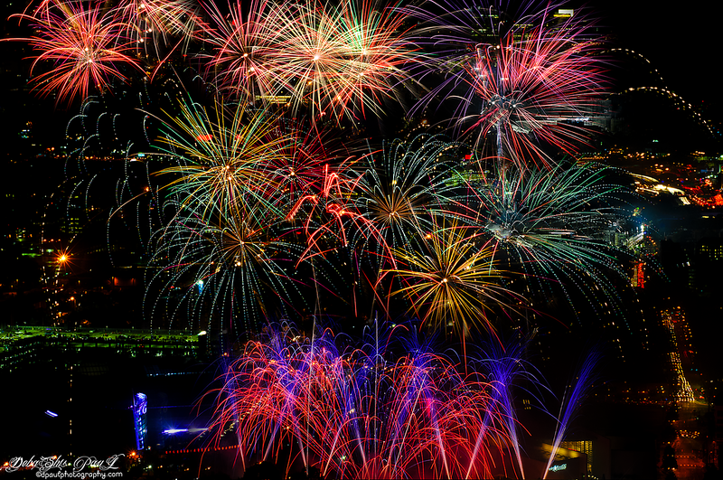 USA Independence Day (4th July Fireworks) @Atlanta Downtown ...