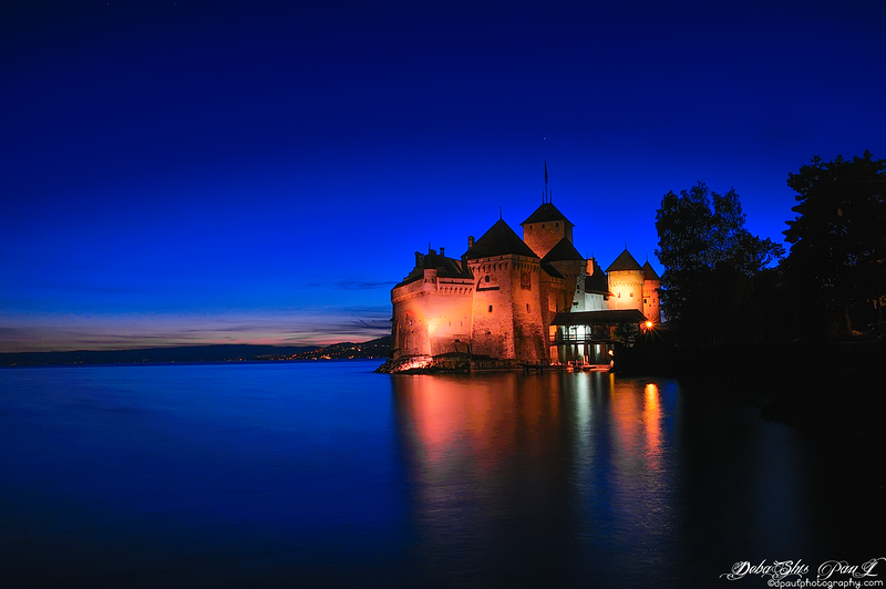 The Château de Chillon(Chillon Castle) - Veytaux, Switzerland