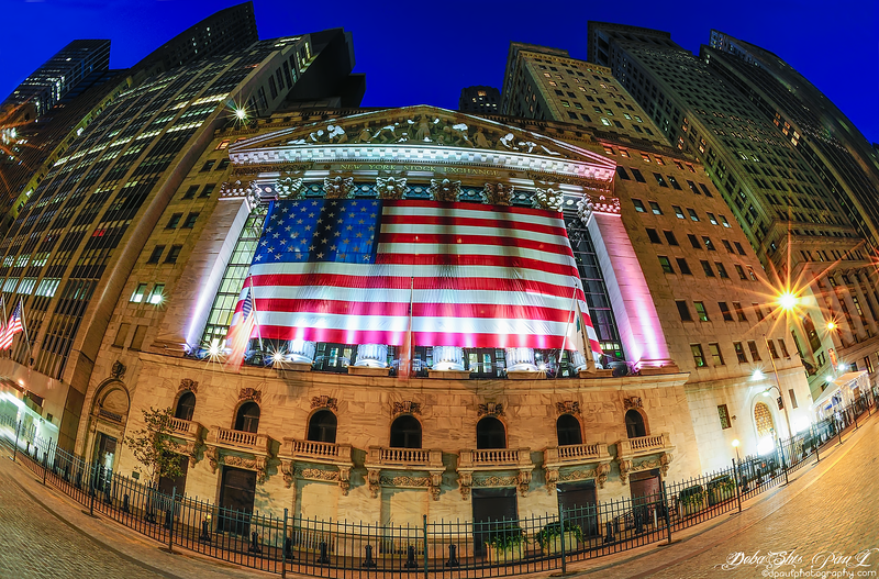 Wall Street and New York Stock Exchange