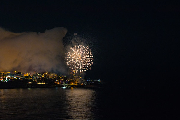 La Jolla Cove Fireworks #5