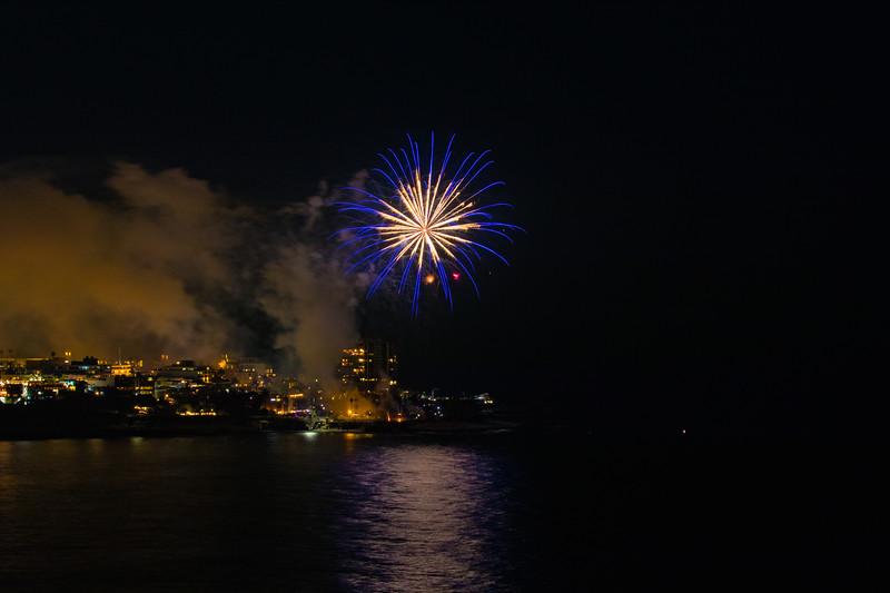 La Jolla Cove Fireworks #1