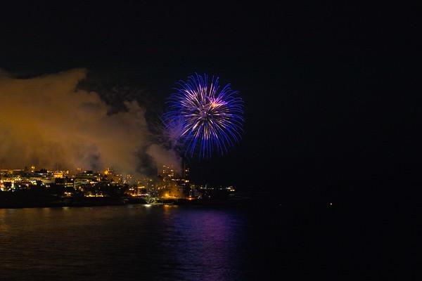 La Jolla Cove Fireworks #3